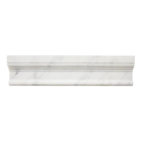 Hampton Carrara Polished Cornice 12 in