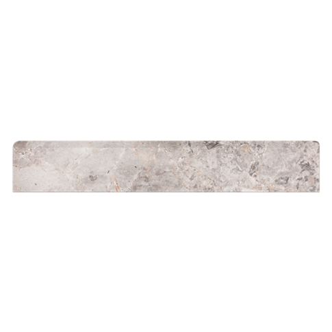 Champagne Light Marble Wall Tile Trim - 2 x 12 in