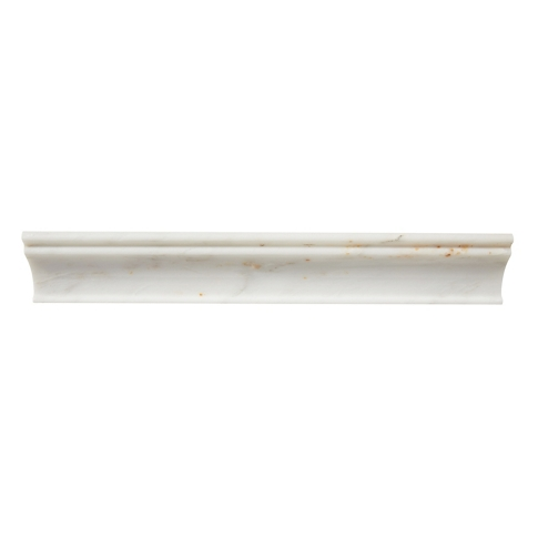 Hampton Carrara Polished Capital Marble Wall Tile Trim