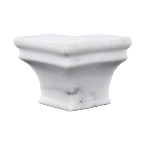 Hampton Carrara Polished Capital  Out Corner