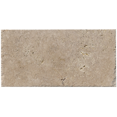Olympic Rustico Travertine Wall and Floor Tile - 12 x 24 in