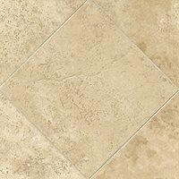 Bucak Light Walnut Polished Travertine Wall and Floor Tile - 12 x 12 in