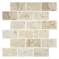 Classic Mix Tumbled Amalfi 12 x 12 in