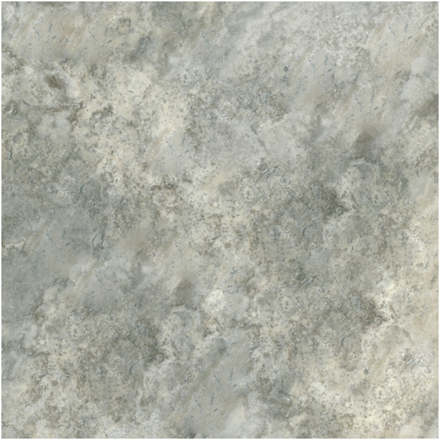 Claros Silver Honed Filled Travertine Wall and Floor Tile - 18 x 18 in