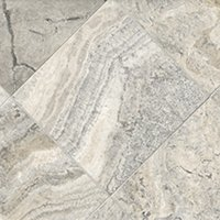 Claros Silver Honed Filled Travertine Floor Tile - 12 in.