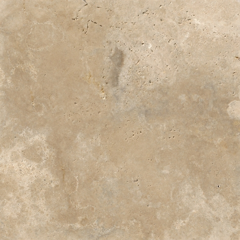 Bucak Silver Travertine Wall and Floor Tile - 16 x 16 in
