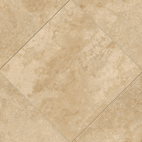 Bucak Light Walnut Travertine Wall and Floor Tile - 18 x 18 in