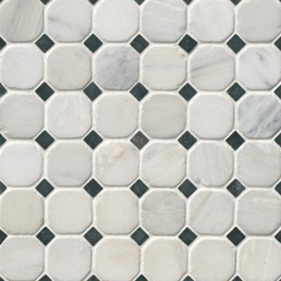 Hampton Hermosa Tumbled Octagon 3 x 3 in The Tile Shop