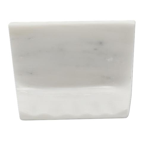 Hand Carved Hampton Carrara Polished Soap