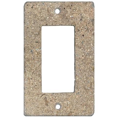 Bucak Dark Walnut Rocker Switch Plate 2.75 x 4.5 in