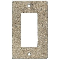 Bucak Dark Walnut Rocker Switch Plate 2.75 x 4.5 in