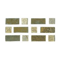 Slater Taco Slate Wall and Floor Tile - 1.3 x 3 in