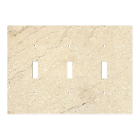 White Marble Switch Plate Cover