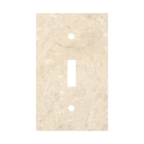 Queen Beige Toggle Switch Plate