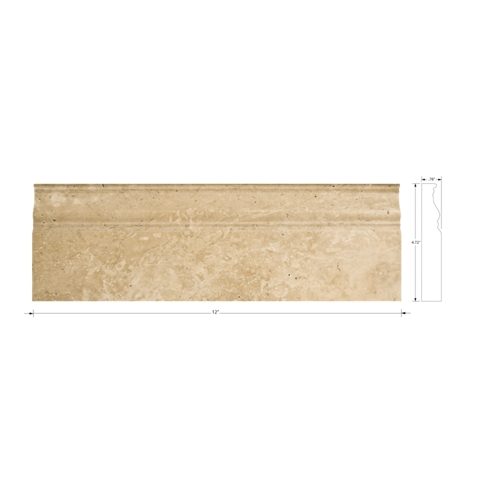 Bucak Light Walnut Skirting 12 in