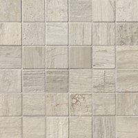Legno Travertine Mosaic Floor Tile - 2 x 2 in.