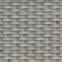 Austin Glass Weave Stone Mosaic Tile - 12 x 12 in.