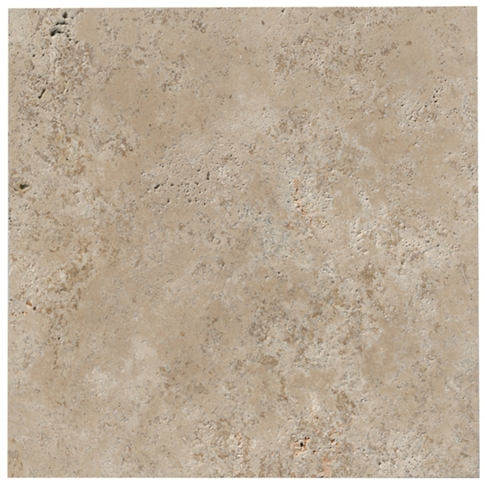 Mevlana Brush/SE Travertine Wall and Floor Tile - 16 in
