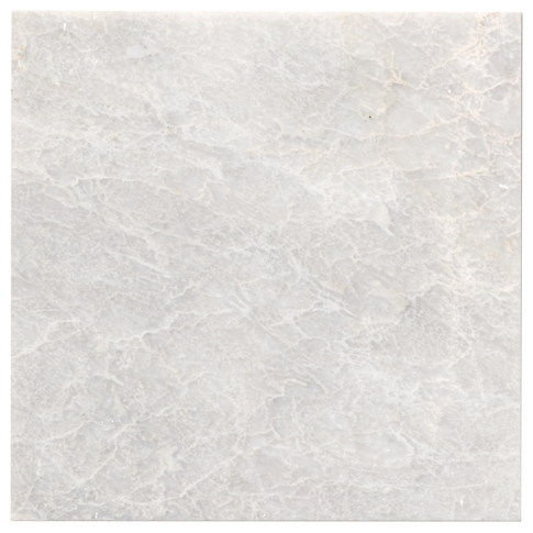 Meram Blanc Marble Floor Tile - 12 x 12 in.