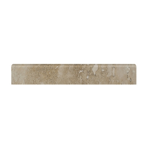 Karaman Light Honed Bullnose 2 x 12 in