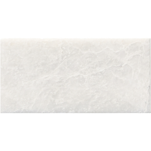 Meram Blanc Polished Marble Subway Tile - 3 x 6 in.