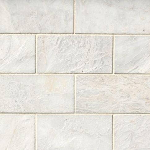 Meram Carrara Satin 3 x 6 in