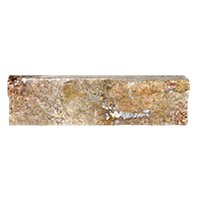 Stone Rojo Splitface 2 x 6 in.
