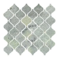 Biltmore Polished Arabesque Marble Mosaic Tile