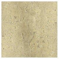 Sandlewood Honed Filled Travertine Floor Tile - 16 x 16 in.
