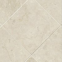 Avorio Fiorito Polished Marble Floor Tile - 12 in