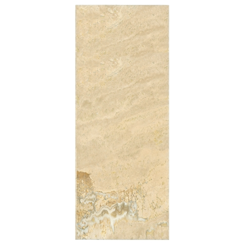 Sandlewood Honed Filled Travertine Wall Tile - 8 x 20 in.