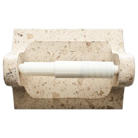 Hand Carved Sandlewood Polished Paper Holder
