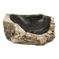 Java Petrified Root Sink Small 6 x 15 x 17 in