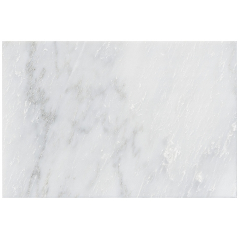Hampton Cararra Polished Marble Wall Tile - 12 x 18 in.