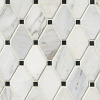 Hampton Brookfield Marble Mosaic Tile - 12 x 12 in.