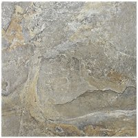 Romina Grey Porcelain Floor Tile - 13 x 13 in.