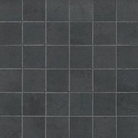 Ionic Steel Mosaic Porcelain Wall and Floor Tile - 2 in
