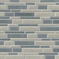 Schubert Crackle Stria Mosaic Ceramic Wall Tile