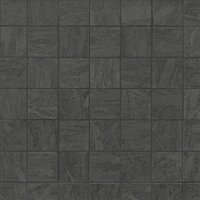 Bleecker Dark Porcelain Mosaic Wall and Floor Tile - 2 x 2 in