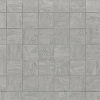 Bleecker Grey Porcelain Mosaic Wall and Floor Tile - 2 x 2 in