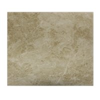 Latte Cream Ceramic Floor Tile - 18 in