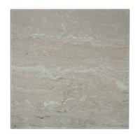 Travertino Grey Ceramic Floor Tile - 18 in
