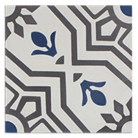 Talavera Encaustic Cement Wall and Floor Tile - 8 x 8 in
