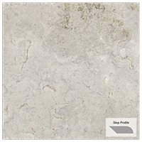 Travstone Beige Outdoor Porcelain Tile Paver Step - 12 x 24 in