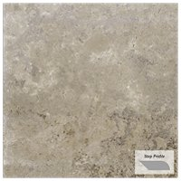 Travstone Noce Outdoor Porcelain Tile Paver Step - 12 x 24 in