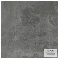 Gotham Nero Outdoor Porcelain Tile Paver Step - 12 x 24 in