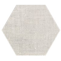Esa Ivory Hex Porcelain Wall and Floor Tile - 9 in