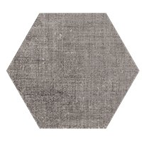 Esa Taupe Hex Porcelain Wall and Floor Tile - 9 in