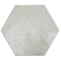 Nord Ris Hex Porcelain Wall and Floor Tile - 8 in