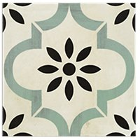 Art Seurat Porcelain Wall and Floor Tile - 9 in